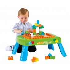 Набор игровой с конструктором (20 элементов) в коробке (зелёный)