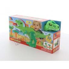 """Набор """"Динозавр""""+конструктор(30 элементов)(в коробке)"""