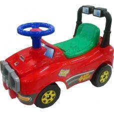 Автомобиль Джип-каталка - №2 (красный)