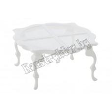 Мебель для кукол - стол №2 (в пакете)