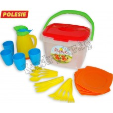 """Набор детской посуды """"Алиса"""" для пикника №2"""