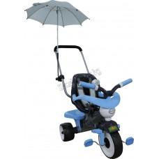 """Велосипед 3-х колёсный """"Амиго №2"""" с ограждением, клаксоном, ручкой, ремешком, мягким сиденьем и зонт"""