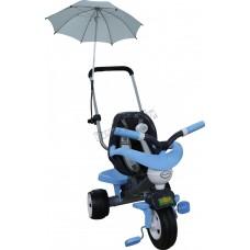 """Велосипед 3-х колесный """"Амиго №3"""" с ограждением, клаксоном, ручкой, ремешком, мягким сиденьем и зонт"""