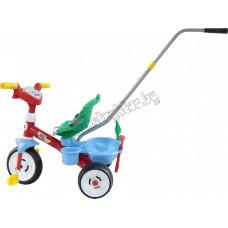"""Велосипед 3-х колёсный """"Беби Трайк"""" с ручкой, звуковым сигналом и ремешком + Набор (2 элемента)"""