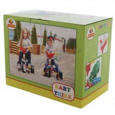 """Велосипед 3-х колёсный """"Беби Трайк"""" со звуковым сигналом и ремешком (в коробке)"""