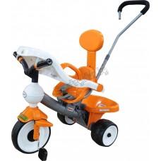 """Велосипед 3-х колёсный """"Дидактик №2"""" с игровой панелью, ручкой и ремешком"""