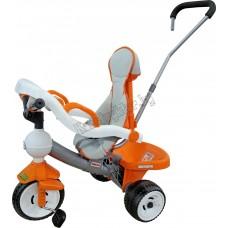 """Велосипед 3-х колёсный """"Дидактик"""" с игровой панелью, ручкой, ремешком и чехлом"""