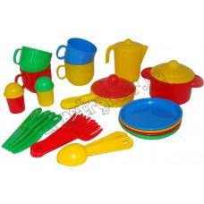 """Набор детской посуды """"Хозяюшка"""" на 4 персоны"""