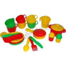 """Набор детской посуды """"Хозяюшка"""" на 6 персон"""